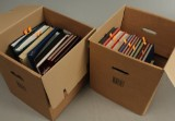 Samling frimærker (2 kasser)