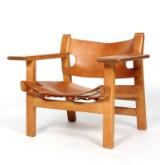 Børge Mogensen. Den spanske Stol, egetræ, model 2226