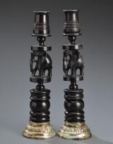 To afrikanske lysestager (2)
