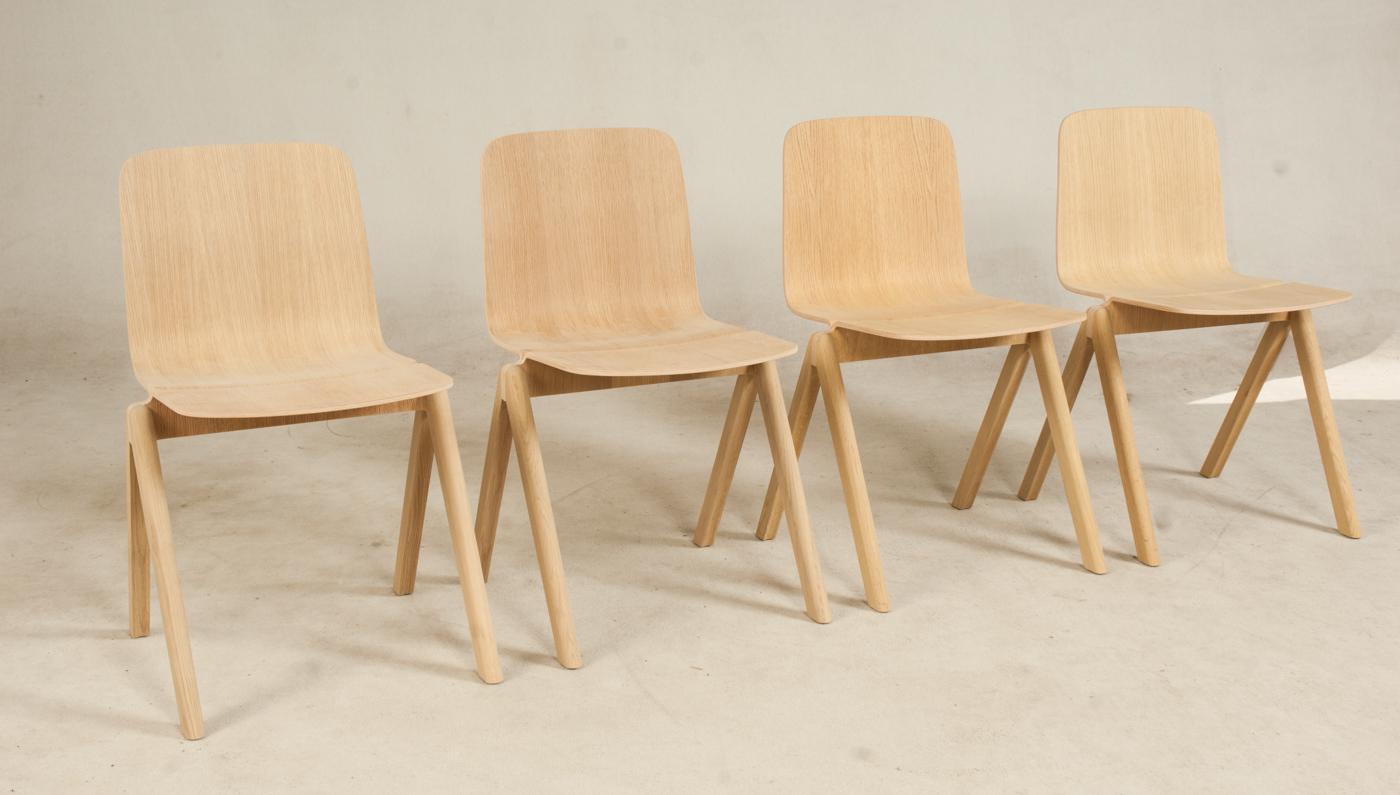 Ronan & Erwan Bouroullec, sæt med seks stole, model CPH