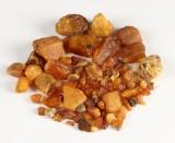 Uforarbejdede danske ravklumper, ca. 220 gram