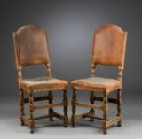Et par danske barok stole, 1600-tallet (2)