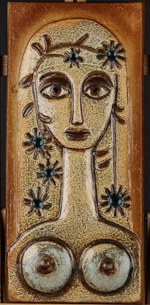 keramik relief Relief fra Søholm keramik | Lauritz.com keramik relief