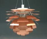 Poul Henningsen. PH Artichoke, pendant lamp, copper, Ø 84