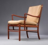Ole Wanscher. Easy chair, model OW149, 'Colonial Chair', mahogany
