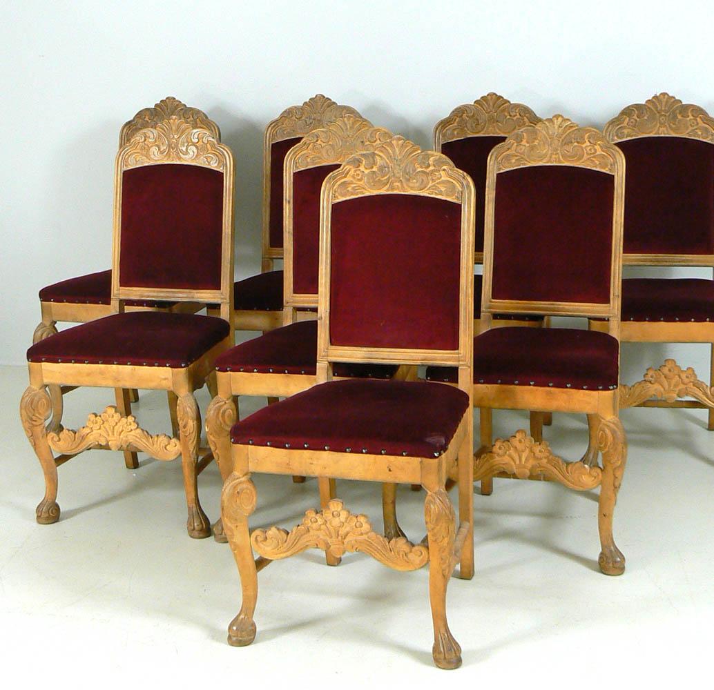 Spisestuestoler i barokk stil | FINN.no