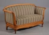 Chr. d vlll sofa af mahogni, ca. 1900-tallet