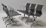 Charles Eames. A set of six armchairs, model EA-108 (6)