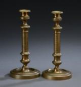 Par empire stager af bronze, ca. 1810 (2)
