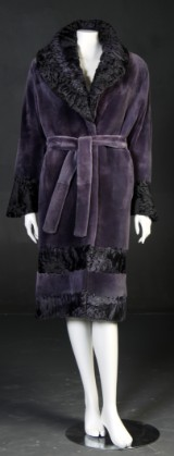 Alex Petersen. Avant-garde mink coat, size 38- 40