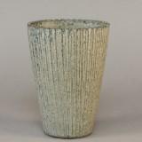 Arne Bang, kanneleret vase af stentøj