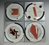Miscellaneous collector's plates by Vladimir Nikolaevich Nemukhin (4)