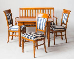 m bel sitzgruppe der firma selva amerikanische kirsche 5 de hamburg gro e. Black Bedroom Furniture Sets. Home Design Ideas