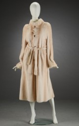 Alex Petersen, reversible coat, pearl mink, size 38