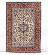 Rug, Isfahan, Persia, signed, 233 x 162