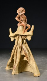 Kasper Holten, stentøj, abstrakt skulptur, 'Kuratoren I'