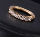 Ole Lynggaard. 'Alliance' ring, 18 kt. gold with diamonds - 0.72 ct