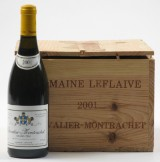 5 fl. Chevalier-Montrachet Domaine Leflaive 2001. (5)