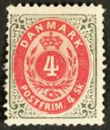 Frimærker Danmark - Varianter, Breve, Stempler, Postfrisk med mere.
