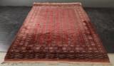 Pakistansk bochara tæppe, 277 x 390 cm.