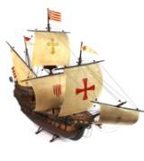 Modellschiff im Stil des 18. Jh.
