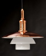 Poul Henningsen. PH 3½ -3 pendant light, copper - Limited Edition