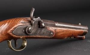 Flintlås pistol 1800-tallet | Lauritz.com