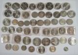 Hele verden Olympiade sølvmønter
