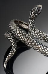 Mielkobinner. Snake Armbånd af sterling sølv small