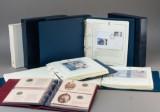 Samling mønter og møntbreve (4)