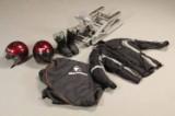 Lift til Motorcykel, 2 styrthjelme, Støvler og Kørejakke (5)
