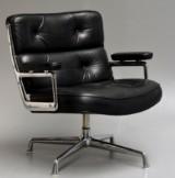 Charles & Ray Eames. Lobby Chair, ES-105, black