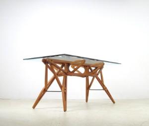 Carlo Mollino A Dining Table Model Reale By Zanotta Lauritzcom