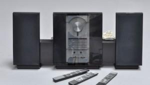 slutpris f r stereoanl g med h jtalere 4. Black Bedroom Furniture Sets. Home Design Ideas
