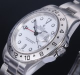 Rolex 'Explorer II'. Men's watch, steel with white dial with date, c. 2003