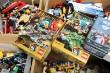 LEGO. En stor samling diverse klodser