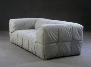 m bel cini boeri sofa 39 strips 39 f r arflex de hamburg gro e elbstra e. Black Bedroom Furniture Sets. Home Design Ideas