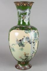 Cloisonné, vase/gulvvase. Japan. 1900-tallet