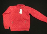 1 stk. Pige jakke str. 16 år farve Cerise 100% nylon fra de Terre Aps - til fordel for Dansk Flygtningehjælp.
