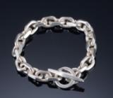 Ankerarmbånd af sterling sølv