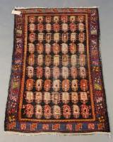 Antiker Teppich Kasak um 1920, 170 x 108 cm