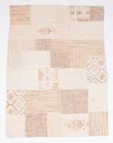 Patchwork Teppich Design 'In Jajim Patch Natural', 240 x 170 cm