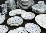 Royal Copenhagen, musselmalet porcelæn