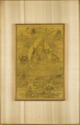 Konvolut asiatische Grafiken / Tusch-Zeichnungen / Miniturmalerei / Seidenmalerei (3)