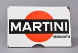 Emaljeskilt, 'Martini Vermouth'