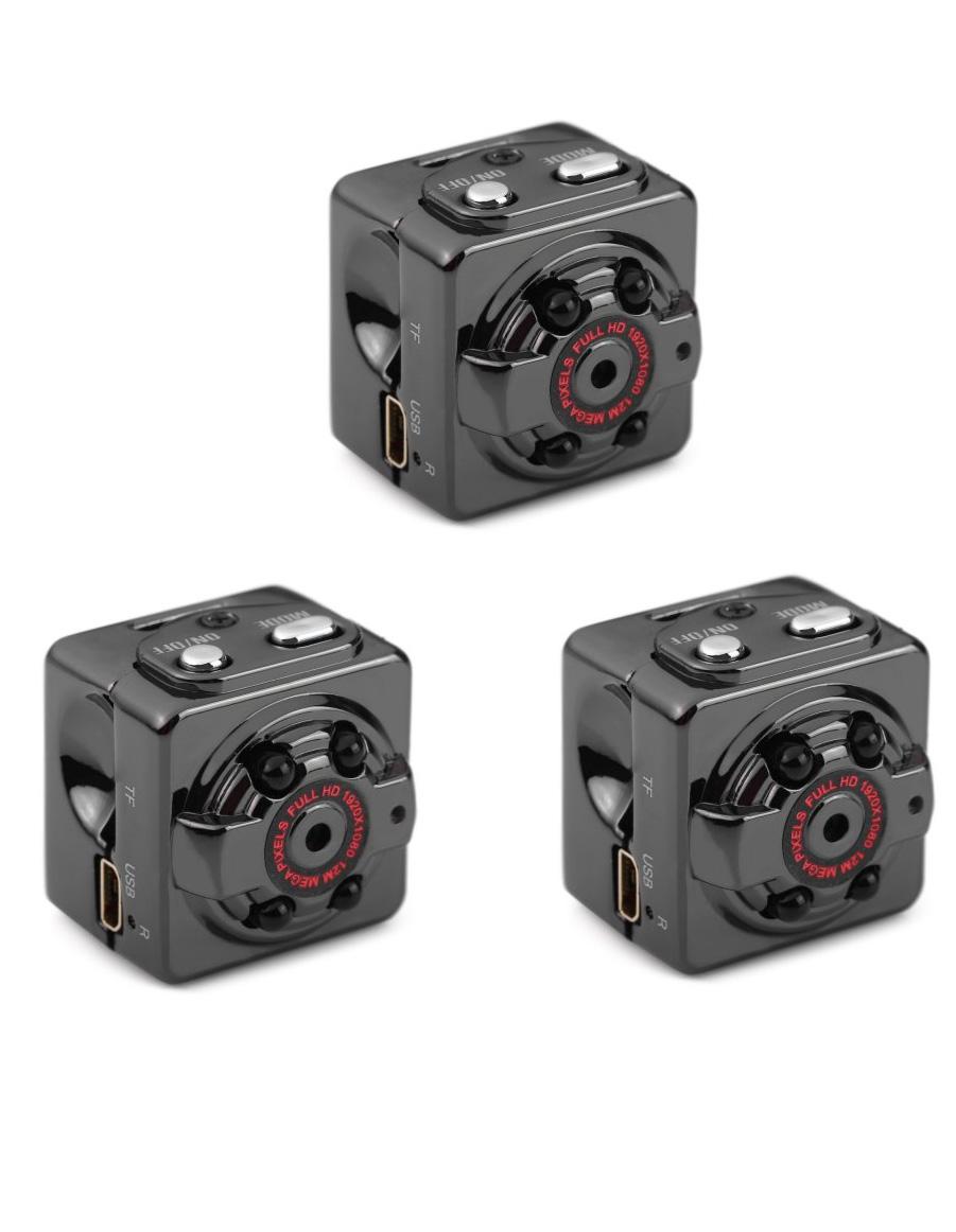 Spionkameraer der kan gemmes de fleste steder - Optager i Full HD, motion sensor og nightvision (3 sæt) - Spionkameraer der kan gemmes de fleste steder - Optager i Full HD, motion sensor og nightvision (3 sæt) Kameraet har indbygget videooptagelse, almindeligt kamera, kan virke som webcam og lydoptager. Derudover har de indbyggede motion detect, så...