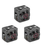 Spionkameraer der kan gemmes de fleste steder  - Optager i Full HD, motion sensor og nightvision (3 sæt)