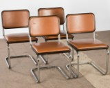 Marcel Breuer, Thonet, chairs / cantilever chairs, model 'S 32', 1990 (4)