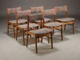 Dansk møbelproducent. Spisestole (6)