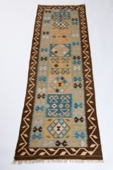Teppich, Design Kelim Kaudani, ca. 300 x 93 cm
